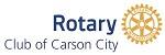 rotary club carson city logo
